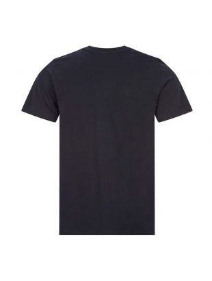 T-Shirt Niels Wave Logo - Navy