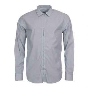 norse projects shirt osvald fine stripe blue n40 0367 0224