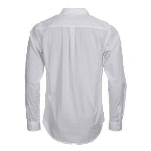 Shirt - White Osvald Poplin