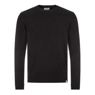norse projects jumper sigfred lambswool N45 0345 0966 black