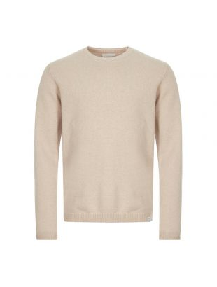 norse projects jumper sigfred lambswool N45 0345 0966 khaki