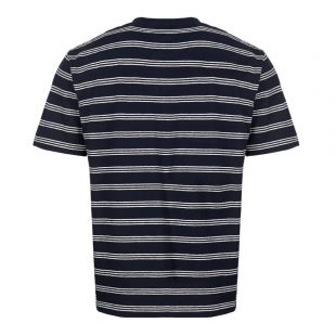 T-Shirt Johannes – Dark Navy Stripe