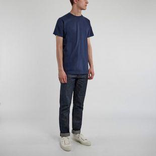 T-Shirt - Niels Navy Plain