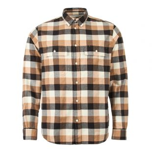norse projects check villads shirt N40 0474 0966 utility khaki