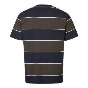 T-Shirt Johannes 3 Stripe - Green