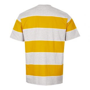 T-Shirt Johannes 3 Stripe - Yellow / Grey