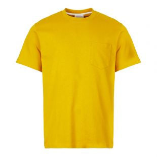 Norse Projects T-Shirt Johannes Pocket N01 0399 3039 Yellow