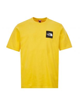 The North Face T-Shirt Masters Of Stone|NF0A4921ZBJ Bamboo Yellow|Aphrodite1994