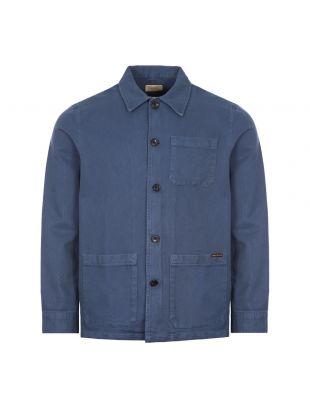 Nudie Jeans Worker Jacket | Indigo Blue | Aphrodite
