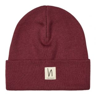 Beanie – Fig / Red