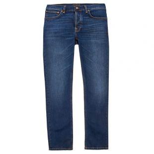nudie jeans grim tim 113039 ink navy