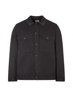 Nudie Jeans Colin Utility Overshirt, 140655 BLK Black, Aphrodite 1994