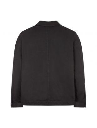 Colin Utility Overshirt - Black
