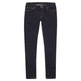 Nudie Jeans Skinny Lin 112083 Navy