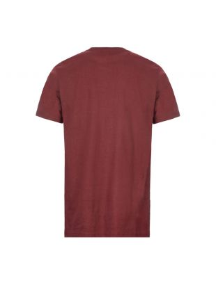 T-Shirt Daniel Logo - Fig / Burgundy