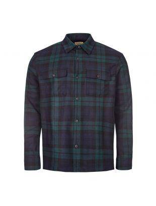 Nudie Jeans Shirt   140668 Blackwatch / Green