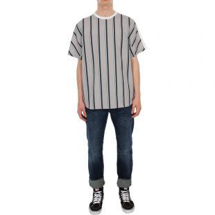 T-Shirt - Grey/ Blue/ White