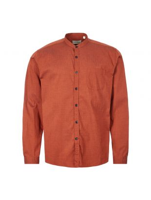 Shirt Grandad - Rust