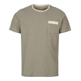 Oliver Spencer Envelope Pocket T-Shirt OSMK461A|DAN01|FOR In Forest Green