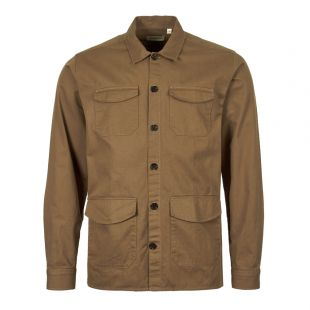 Oliver Spencer Overshirt OSMS151A EDE01TOB In Brown