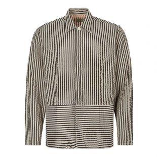 Oliver Spencer Shirt | OSMS158 IVE01 BLK Black Stripe