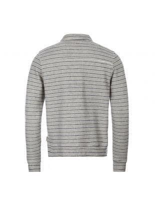 Jacket Rundell Jersey - Navy / Oatmeal