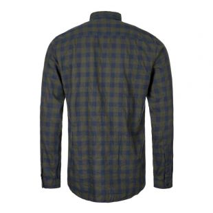 New York Special Shirt - Green / Blue Check