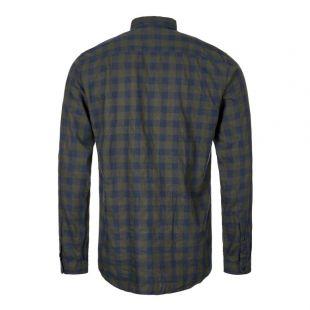 New York Special Shirt - Green / Blue Check