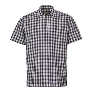 Oliver Spencer Short Sleeve Shirt | OSMS152 HAT01 NAV Navy