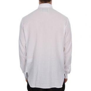Fine Overshirt - White Giro Inglese