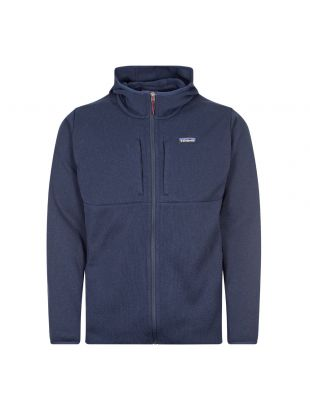 patagonia better sweater hoody navy