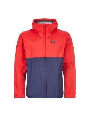 Patagonia Torrentshell 3L Jacket | 85240 FRE Red | Aphrodite Clothing
