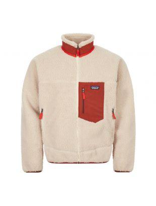 Patagonia Jacket Retro | 23056 NBAR Beige / Rust | Aphrodite