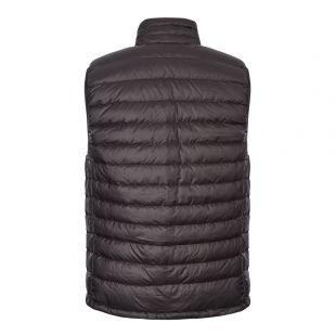 Down Sweater Vest – Black
