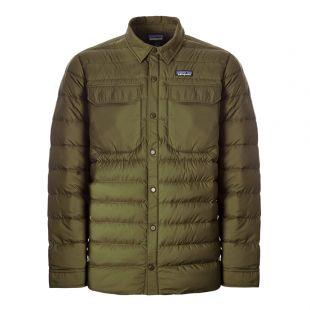 Patagonia Jacket Silent Down | 27925 LDBR Olive
