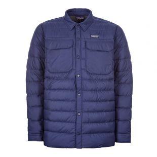 Patagonia Shirt Jacket Silent Down 27925 CNY Navy