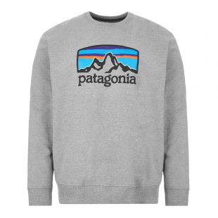 Patagonia Sweatshirt Fitz Roy Horizons | 39586 GLH Grey