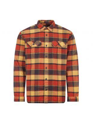 Patagonia Flannel Shirt | 53947 PBRD Burnished Red | Aphrodite Clothing