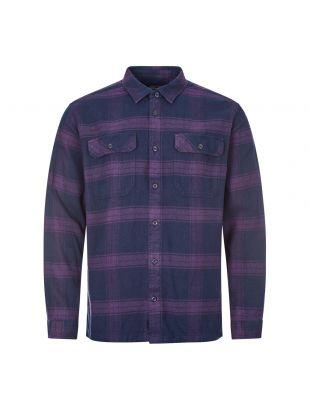 Patagonia Flannel Shirt | 53947 BUPU Purple | Aphrodite Clothing