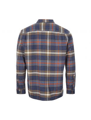 Fjord Flannel Shirt – Navy / Rust / Green