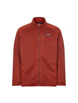 patagonia better sweater jacket barn red