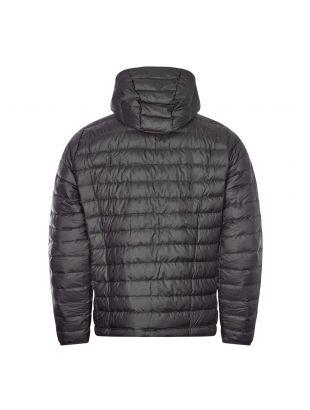 Down Sweater Hoody Jacket - Black