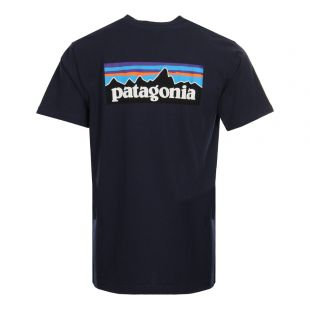 T-Shirt P-6 Logo - Navy