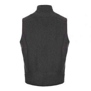 Gilet Retro Pile Vest - Black