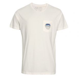 Patagonia Pocket T-Shirt | White 39157-WHT