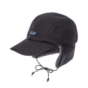Wool Ear Flap Cap - Forge Grey
