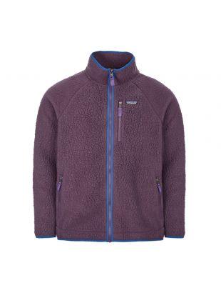 Patagonia Retro Pile Fleece Jacket   22801 PTPL Purple