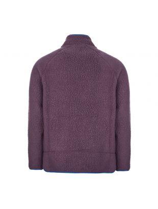 Retro Pile Fleece Jacket - Purple