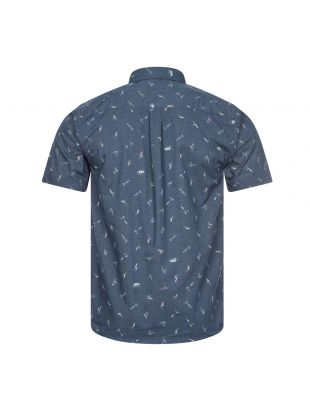 Short Sleeve Shirt Go To - Stone Blue
