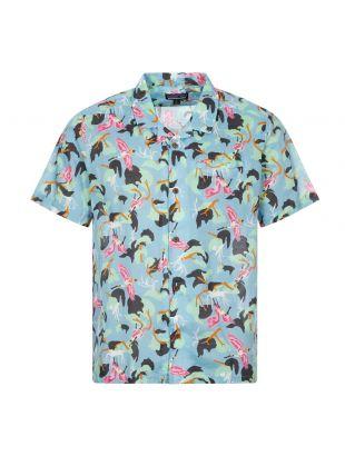 patagonia short sleeve shirt lightweight ac big sky blue